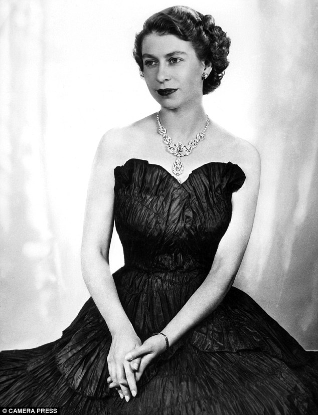 Elizabeth II, pictured in 1951, turned herself from a blushing young princess into the grandmother of the nation — the incarnation of duty and service