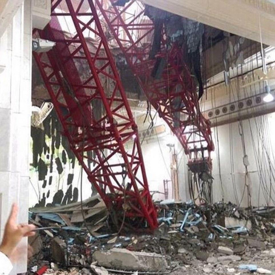 Número de muertos pesada: Al menos 87 personas murieron y más de 150 resultaron heridas en el accidente de hoy en la ciudad santa de Arabia Saudita