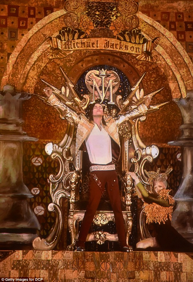 Lifelike: A holographic image of Michael Jackson performs onstage during the 2014 Billboard Music Awards