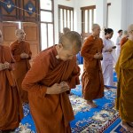 Thailand`s orange-robed friars uncover shades of red