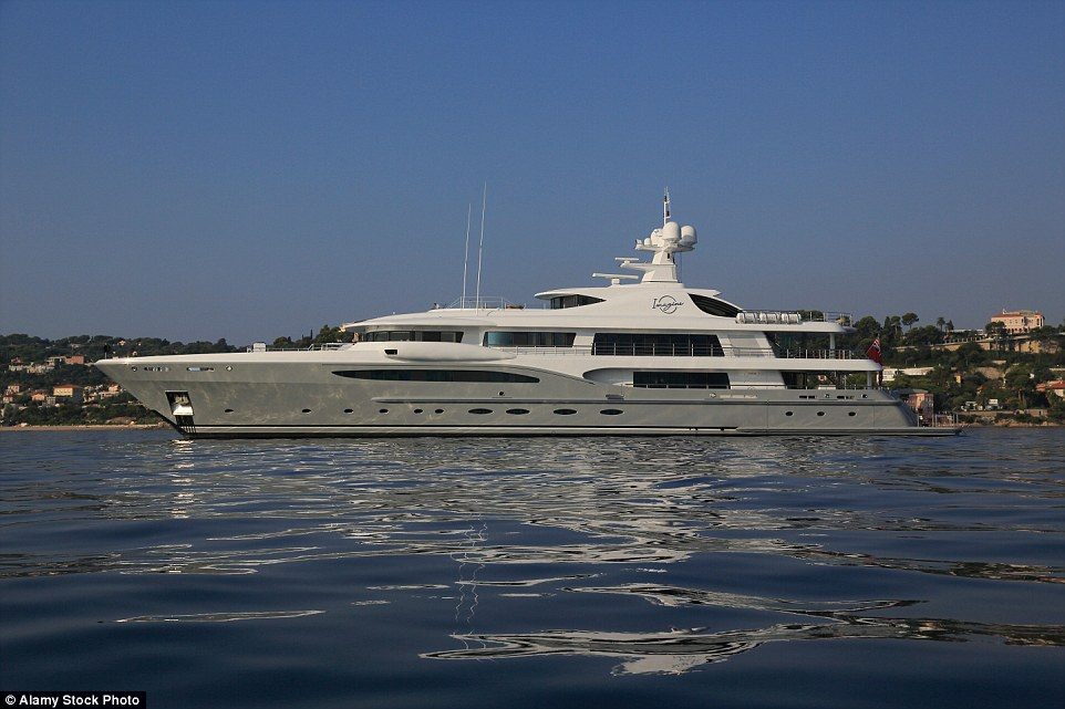 Built by Amels in 2011, Imagine features a helipad and lift that transports guests between decks, and has an asking price of £51million