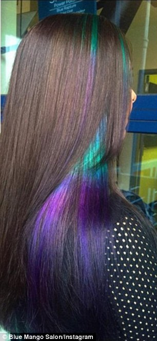 New Hair Trend Sees Rainbow Stripes Used To Give Locks An