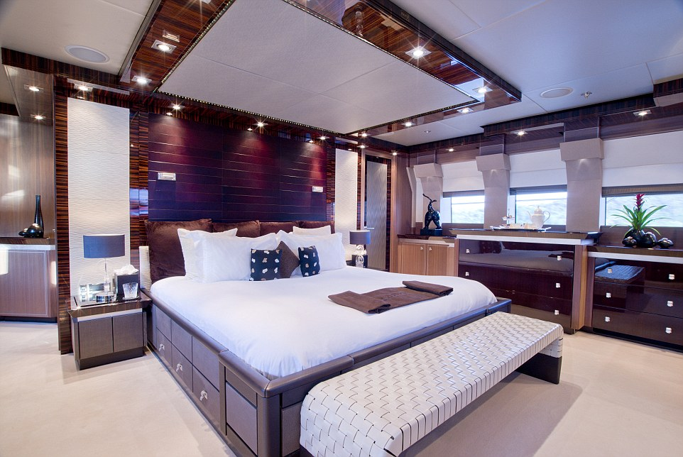 Currently based in Antibes, France, the vessel is 46 metres (150ft), and can sleep as many as 12 guests in five staterooms