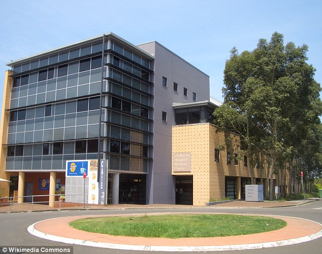 The sisters were examined by a paediatrician at Westmead Children's Hospital (pictured)