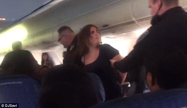 American Airlines Passenger Wrestled Off Flight After She