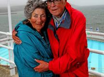 Couple married for 68 years have traveled to Plymouth every year for 44 YEARS | Daily Mail Online