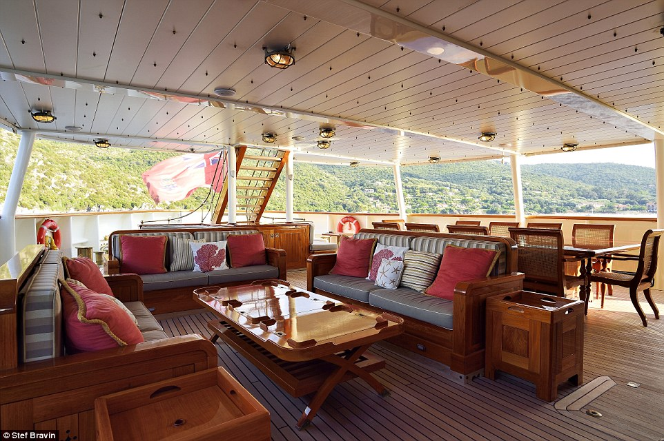 Built at Pendennis' shipyard, in Falmouth, Cornwall, the vessel can accommodate up to 12 guests in six staterooms