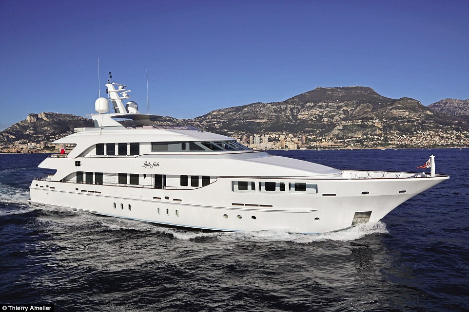 Built by Heesen Yachts, in the Netherlands, Little Fish was last sold in 2010 with only 1,000 hours on its main engines
