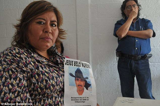 Torturous: Lilia Juarez's (left) daughter Maria Velez, 15, disappeared in 2010 from Chilpancingo after getting into an unidentified black car outside her school