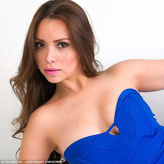 Horrible discovery: The decaying body of an aspiring actress, Carmen Yarira Noriega Esparza, was found inside a water tank one year after she disappeared