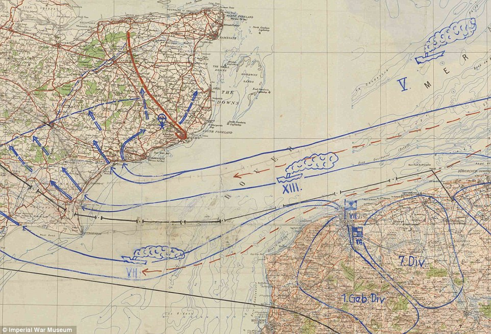 WWII Map Doodles Reveal What Rank And File Thought Of