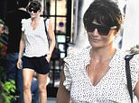 Mandatory Credit: Photo by Buzz Foto/REX Shutterstock (5109849g)\n Helena Christensen\n Helena Christensen out and about, New York, America - 18 Sep 2015\n \n
