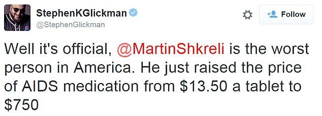 martin shkreli buys rights