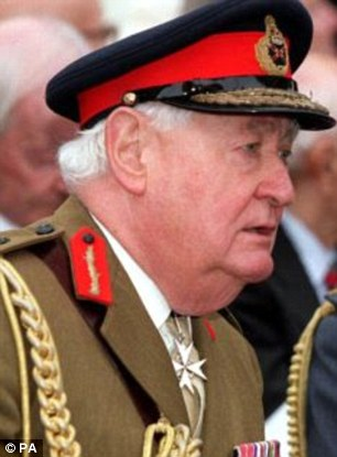 Questions:Police have interviewed Lord Bramall, 91, one of the country's most senior former soldiers