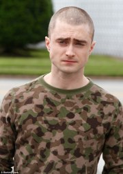 daniel radcliffe reveals shaved