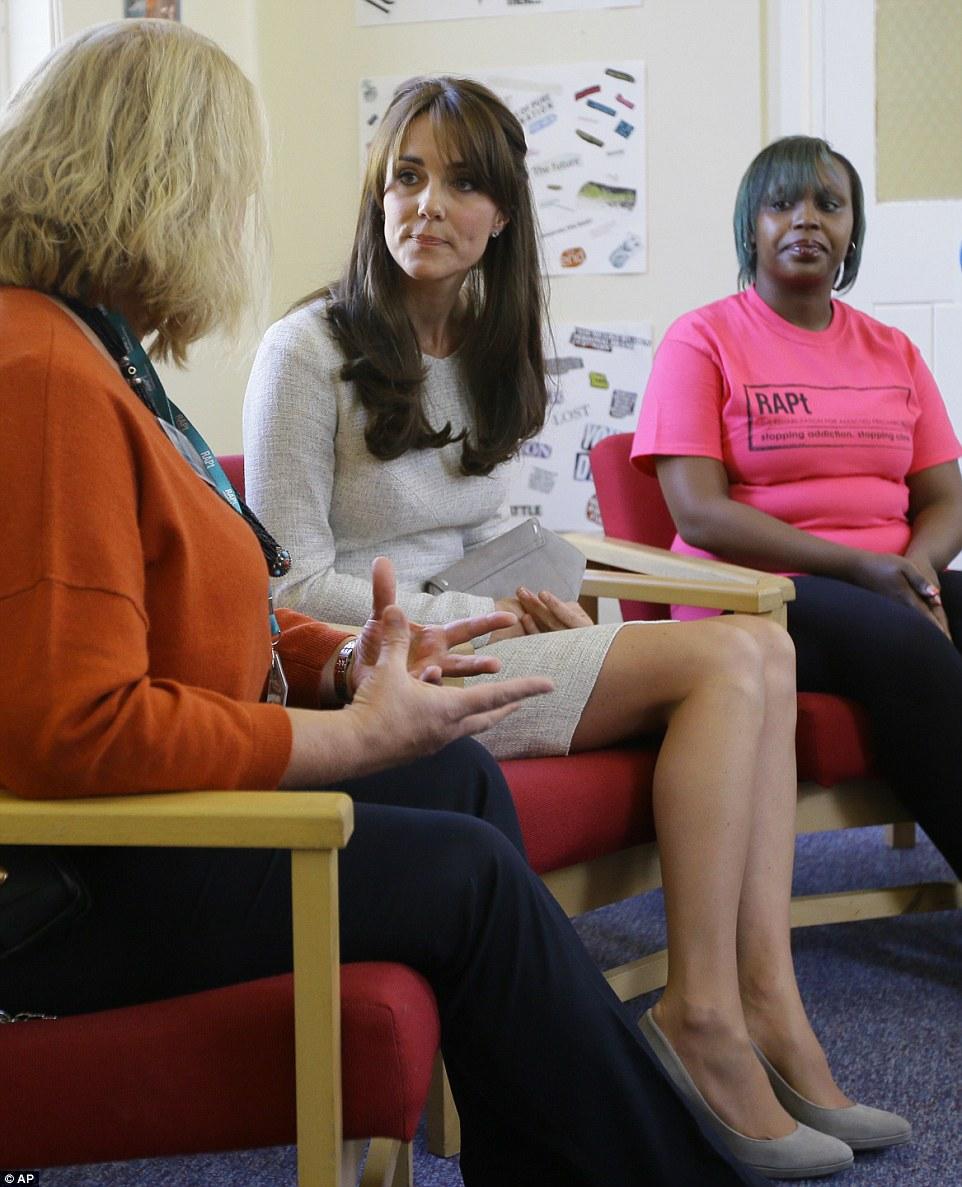 Kate Middleton visits womens jail HMP Send to meet