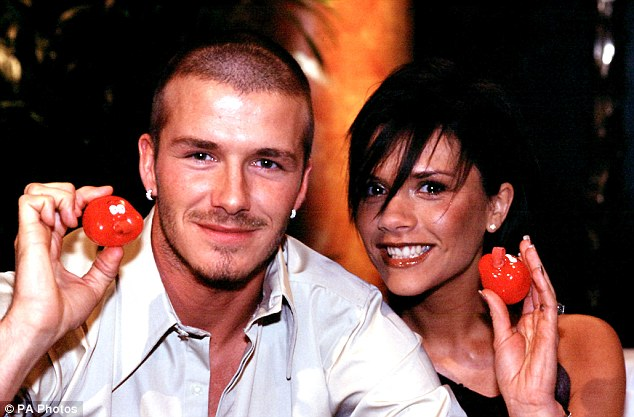 Youthful: The couple together during an interview to be screened on Red Nose Day 2001. It's been noticed that the couple are spending increasing amounts of time apart in recent months