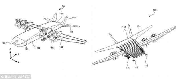 Boeing patents cargo plane that looks like Thunderbird 2