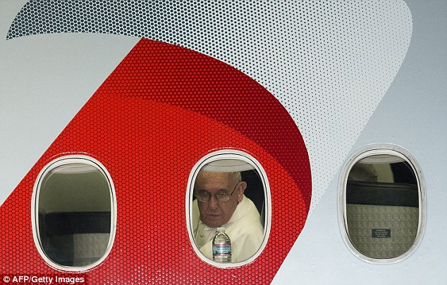 Pope Francis departed the US on Sunday after a trip to Washington, New York and Philadelphia that saw thousands of people line the streets to see him as he traveled between meetings with dignitaries and the needy