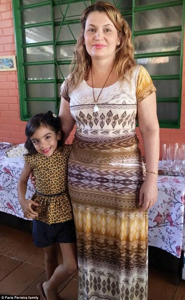 Warning: Many families have stories of tragedy to share, including that ofDeise Faria Ferreira (right), who started drinking the tea with her congregation at a Santo Daime church earlier this year