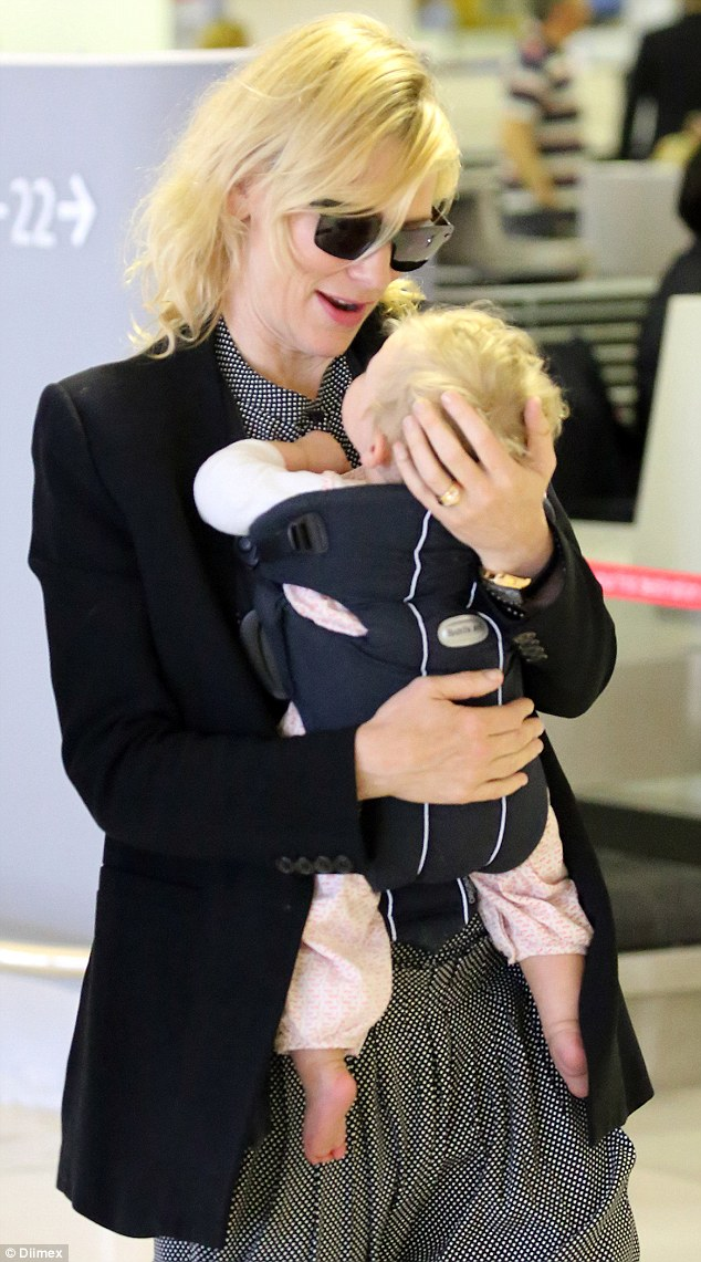 Cate Blanchetts Adorable Daughter Edith Reveals A Full