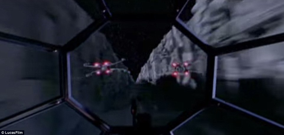X Wing Fighter Iphone Wallpaper Classic Death Star Scene From Star Wars Recreated Under