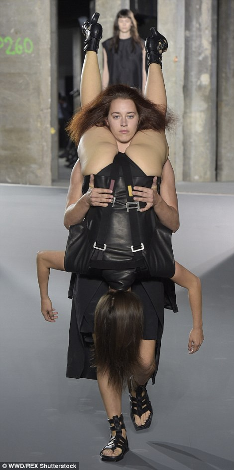 The Cyclops, Rick Owens wrote, is 'a mythological creature, formidable with focused vision. Who among us wouldn't appreciate that kind of description?'