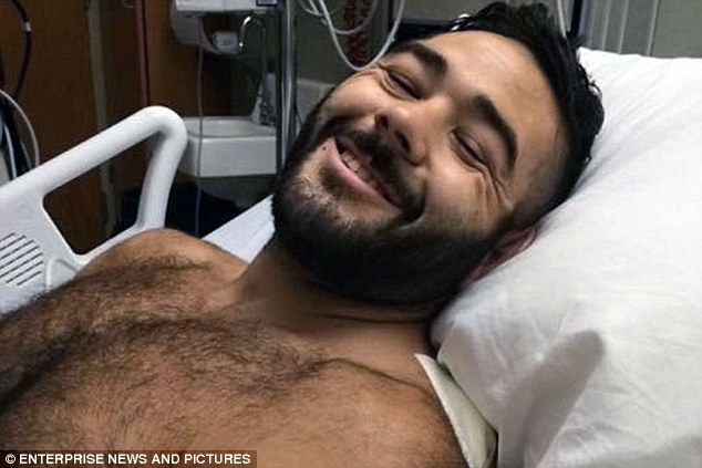 Meanwhile tributes and donations have flooded in forChris Mintz, 30, an Army vet who was shot seven times after attempting to charge the gunman as he made his way into the classroom