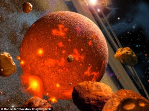 Earth39s solid iron core formed a BILLION years ago and is