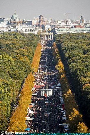 Shock: Opposition against the TTIP deal has been escalating in Germany over the past 12 months, since a proposed draft was leaked last year