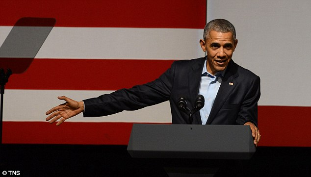 Jokes: President Barack Obama has shared some sound advice on what it is like to run the United States with Kanye West at a Democratic National Committee Fundraiser in San Francisco