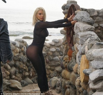 Throwback: Kim Kardashian took to her website to reminisce about shooting the June 2015 cover for Vogue Brazil, and about her platinum blonde locks