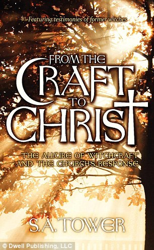Seeing the light: Ally, who goes by her middle name, wrote two books, Taken from the Night: A Witch's Encounter with God and From the Craft to Christ, which are about her spiritual transition