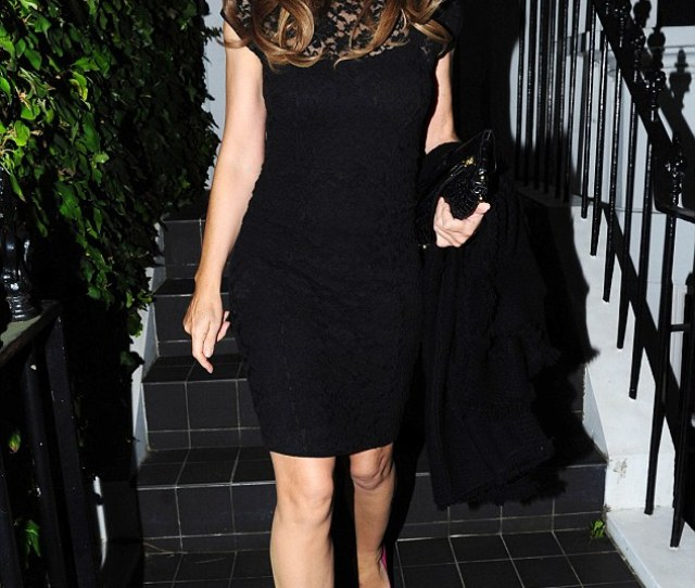 Dressed To Impress Elizabeth Hurley Early Proved She Could Still Rival The Rest Of Them