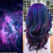 galaxy hair trend sees locks dyed