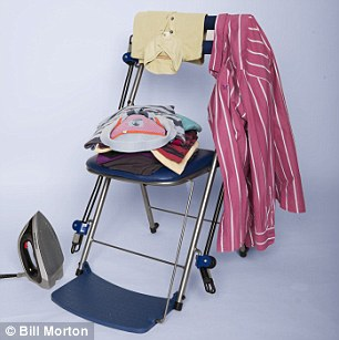 chair gym argos vintage leather desk can the get you fit while watch telly it promises to luckily is great for putting ironing on