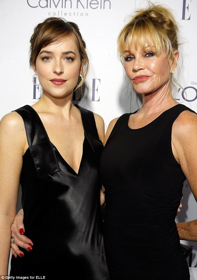 Melanie Griffith Joins Mother Tippi Hedren And Daughter