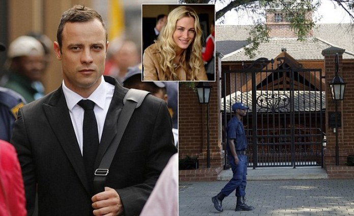 Oscar Pistorius leaves prison early after he was jailed for killing Reeva Steenkamp
