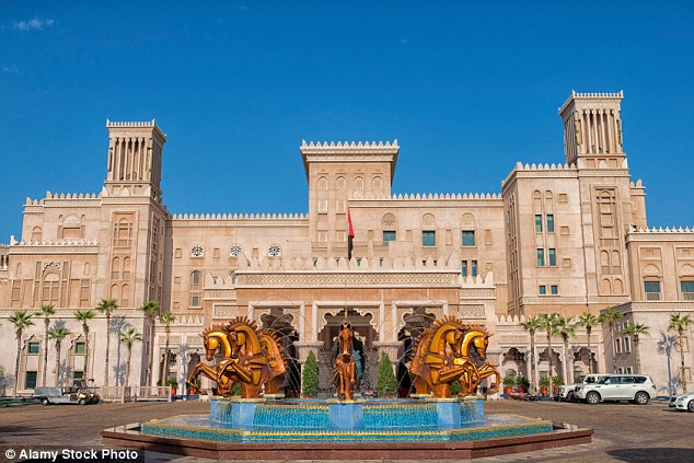 The Al Qasr hotel, Dubai, which is part of the Jumeirah group is said to have outstanding service