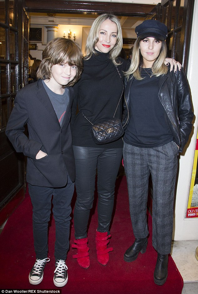 Liam Gallagher With Son Gene At Kinks Musical Sunny