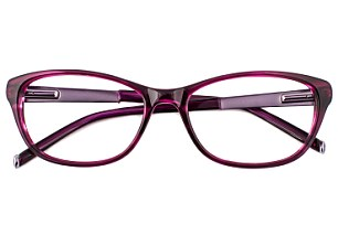 Twiggy has created red rimmed frames for Specsavers