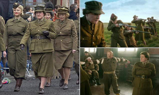 First Look At Mrs Mainwaring As Trailer For Dad's Army