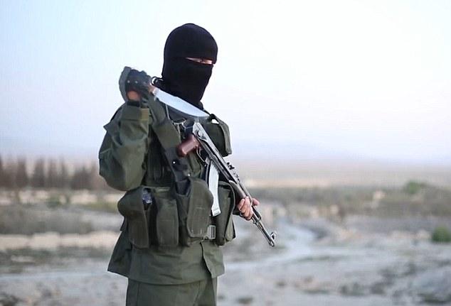 Las imágenes enferma es la primera vez ISIS han lanzado un vídeo que se ha producido en hebreo