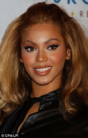 Beyonce just before the break-up of her band Destiny's Child
