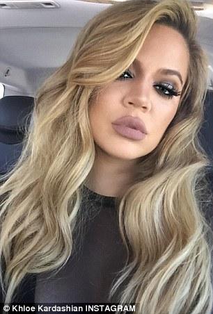 khloe kardashian debuts sassy new long bob at kim s baby shower after chopping off blonde locks