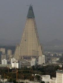 Ryugyong Hotel Pyongyang North Korea
