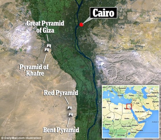 The project will begin south of Cairo with the scanning of the so-called Bent Pyramid at Dashour, followed by the nearby Red Pyramid. Later, the two largest pyramids on the Giza plateau will also be scanned. The structures are over 4,500 years old