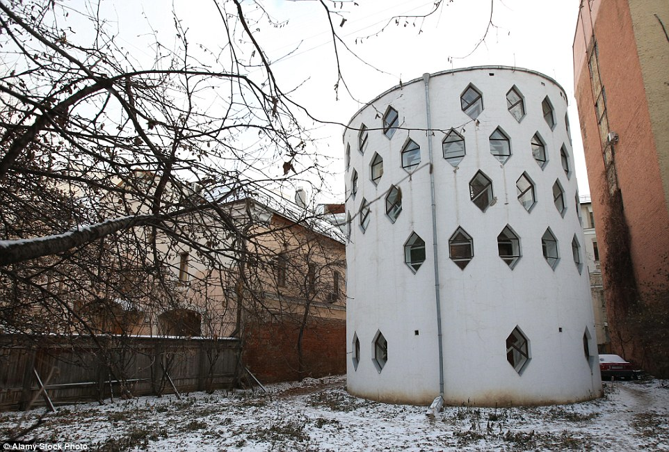 The uniqueMelnikov House in Moscow may stand out among other buildings due to its unusual cylindrical design, but it might not stand at all for much longer