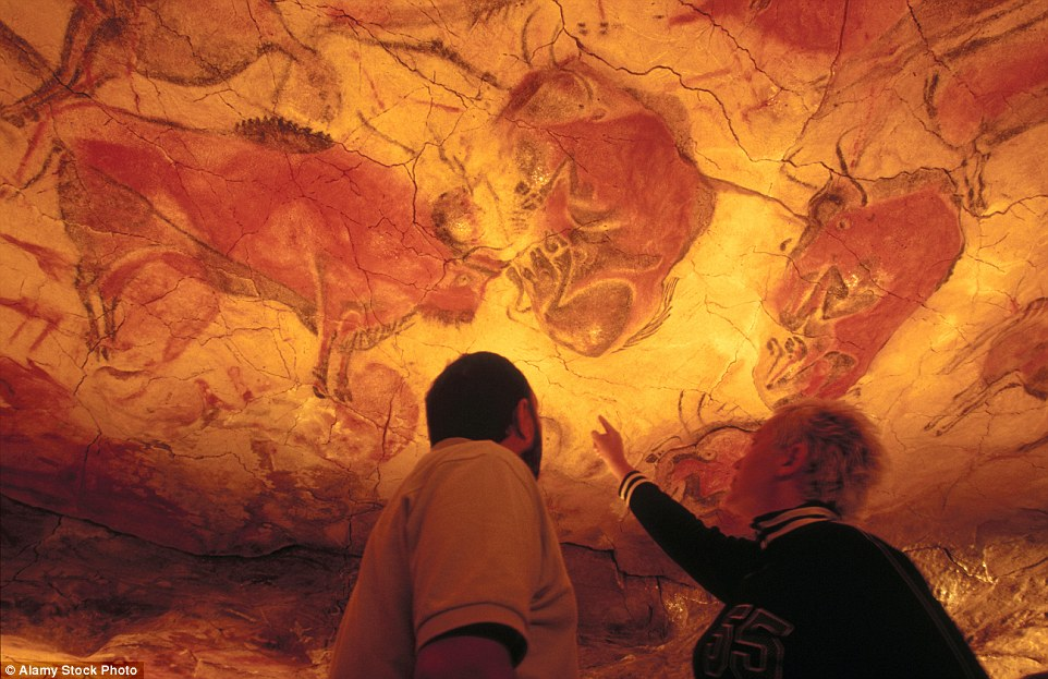The fascinating cave paintings in Altamira, Spain, were discovered in the 1880s and quickly became a huge tourist attraction. However the cave system, containing ice-age paintings of bison, bulls and other animals, was shut due to carbon dioxide in tourists' breath starting to damage the paintings. Limited openings have been conducted over the years since and last year saw five visitors selected at random to visit the cave, instead of the nearby replicas. This is the first time members of the public were allowed inside the cave in 12 years