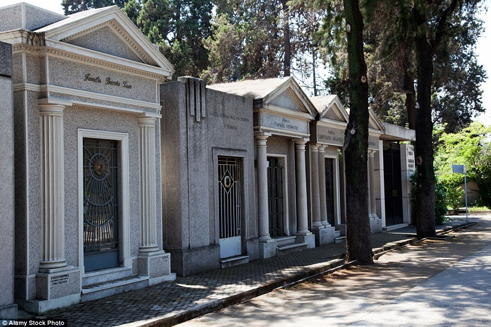 The General Cemetery of Santiago occupies 210 acres north of the city, and contains more than two million tombs of Chilean presidents, politicians, artists, and athletes. However the resting place has been subject to substantial damages caused by the 2010 earthquake. Most of the damaged structures have not been stabilised or repaired. As a result it has been included on the 2016 World Monuments Watch list